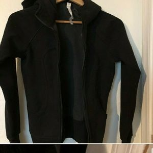 Lululemon scuba jacket NWOT black